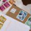 Les timbres oblitérés ont une valeur inestimable en philatélie